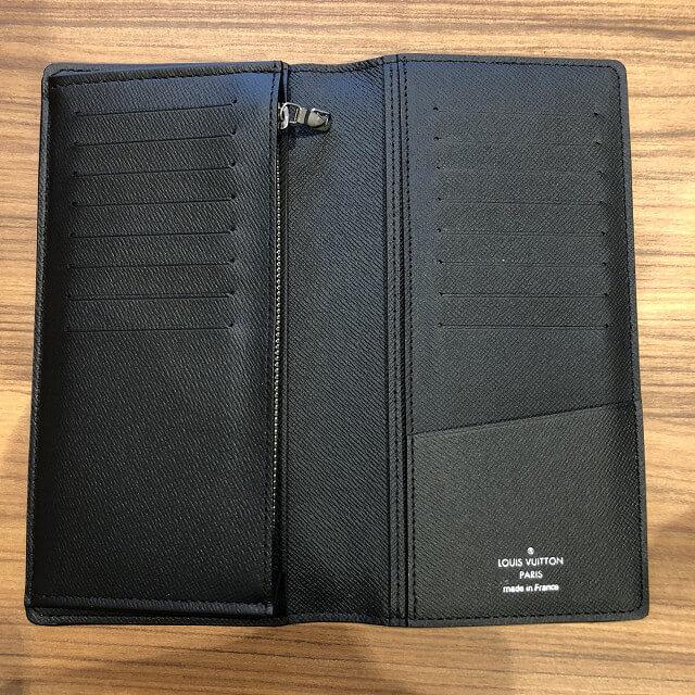 奈良のお客様からヴィトンの長財布【ポルトフォイユ・ブラザ】を買取_03
