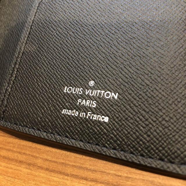 奈良のお客様からヴィトンの長財布【ポルトフォイユ・ブラザ】を買取_04