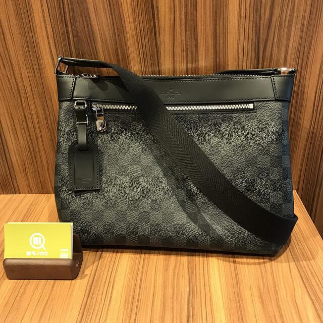 十三のお客様からヴィトンのダミエグラフィットのバッグ【ミックPM】を買取_01