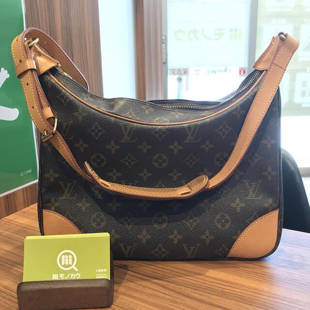 今里のお客様からヴィトンのバッグ【ブローニュ】を買取_01