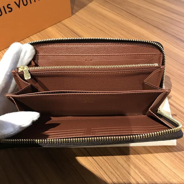 桃谷のお客様からヴィトンのモノグラムの長財布【ジッピーウォレット】を買取_04