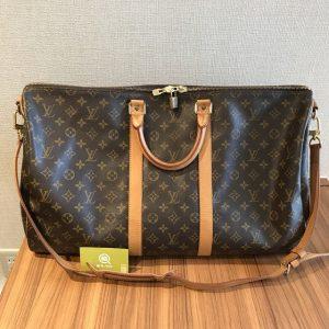 熊本のお客様からヴィトンのボストンバッグ【キーポル55 バンドリエール】を買取