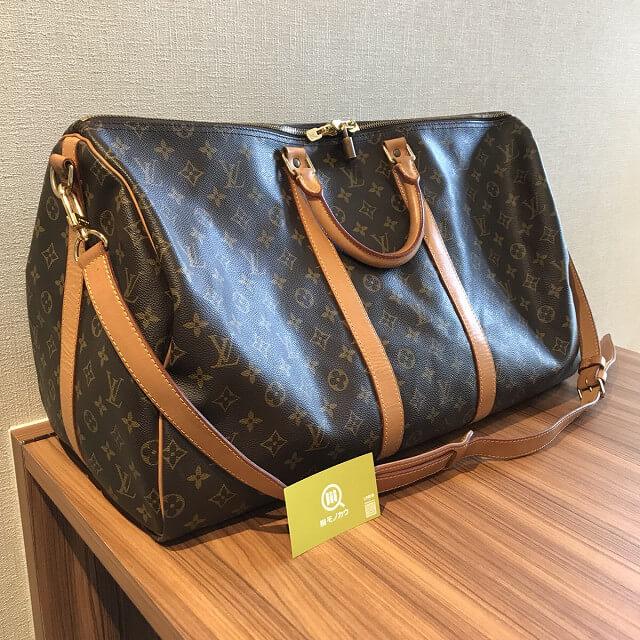 熊本のお客様からヴィトンのボストンバッグ【キーポル55】を買取_02