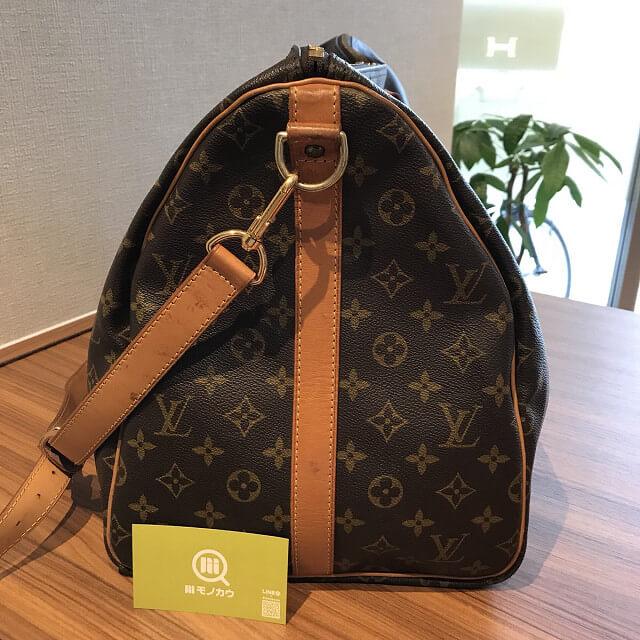熊本のお客様からヴィトンのボストンバッグ【キーポル55】を買取_03
