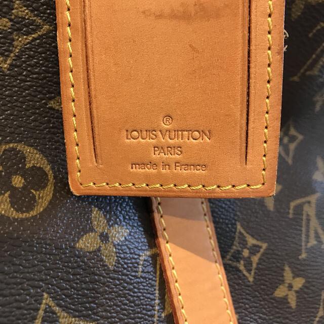 熊本のお客様からヴィトンのボストンバッグ【キーポル55】を買取_04
