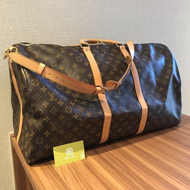 上新庄のお客様からヴィトンのボストンバッグ【キーポル60バンドリエール】を買取_02