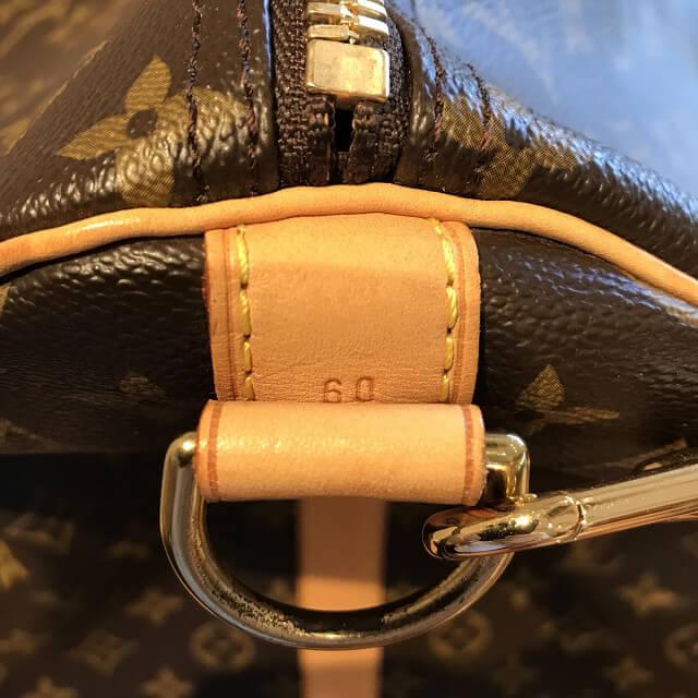 上新庄のお客様からヴィトンのボストンバッグ【キーポル60バンドリエール】を買取_04