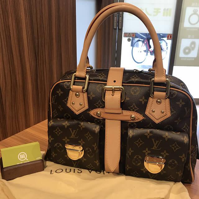 上大岡のお客様からヴィトンのバッグ【マンハッタンGM】を買取_01