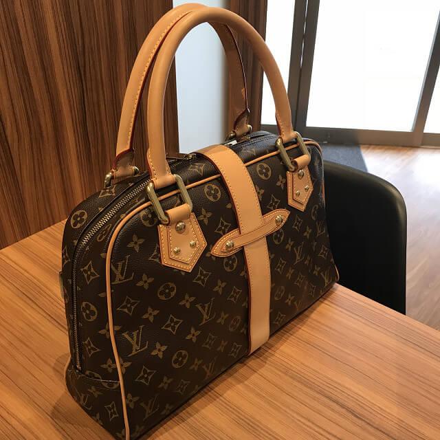 上大岡のお客様からヴィトンのバッグ【マンハッタンGM】を買取_04