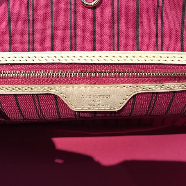 西中島南方のお客様からヴィトンのトートバッグ【ネヴァーフルPM】を買取_04