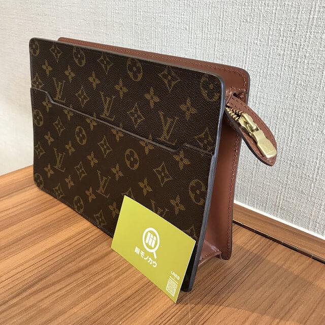 札幌のお客様からヴィトンのセカンドバッグ【ポシェットオム】を買取_02