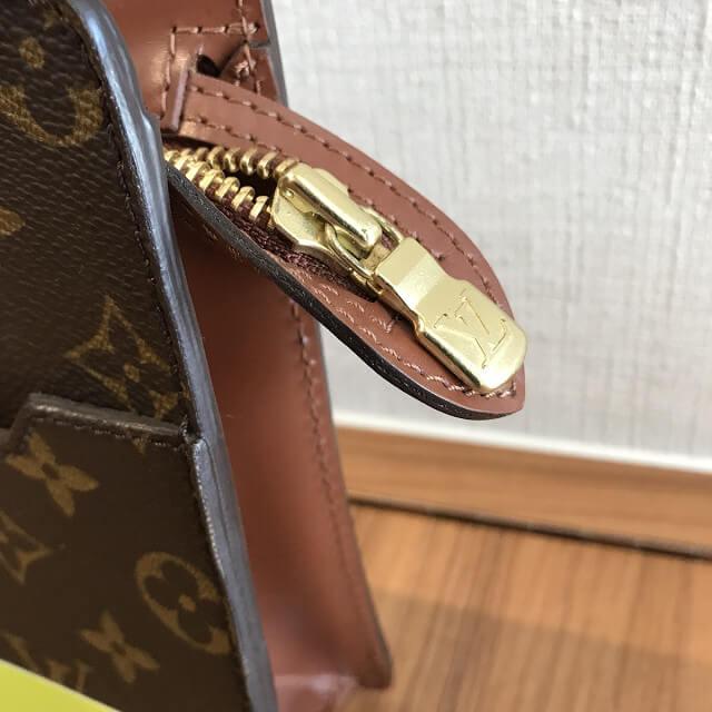札幌のお客様からヴィトンのセカンドバッグ【ポシェットオム】を買取_03