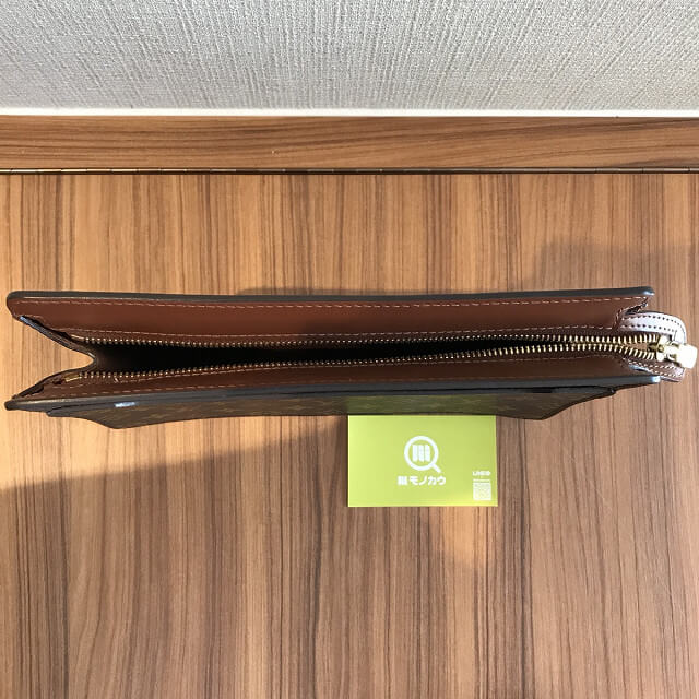 札幌のお客様からヴィトンのセカンドバッグ【ポシェットオム】を買取_04