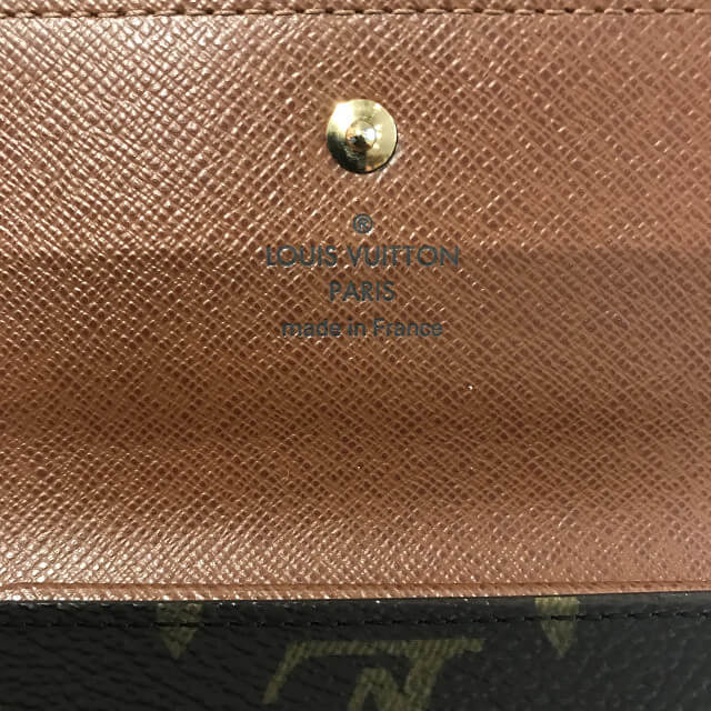 和歌山のお客様からヴィトンの財布を買取_04