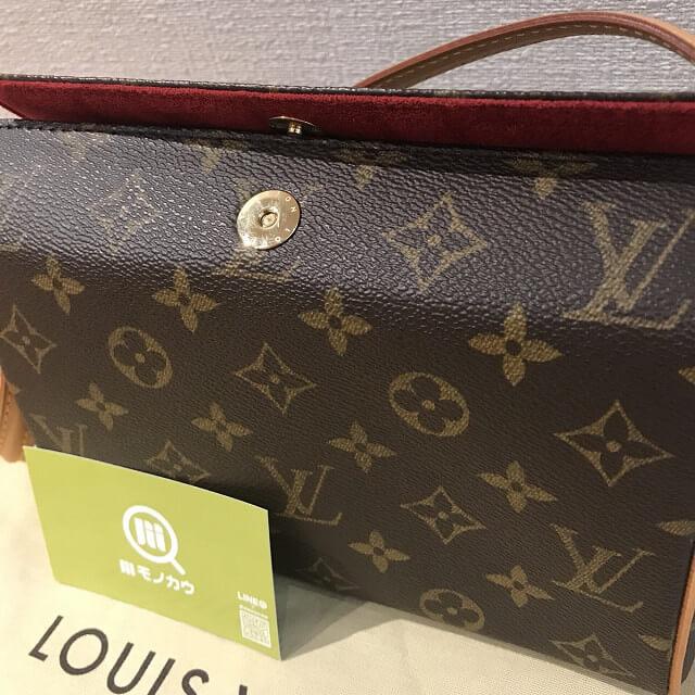 京都市山科区のお客様からヴィトンのバッグ【レシタル】を買取_03