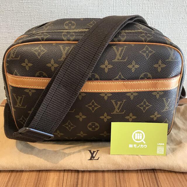 町田のお客様からヴィトンのショルダーバッグ【リポーターPM】を買取_01