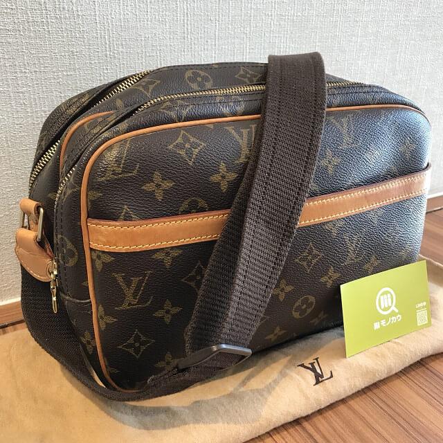 町田のお客様からヴィトンのショルダーバッグ【リポーターPM】を買取_02