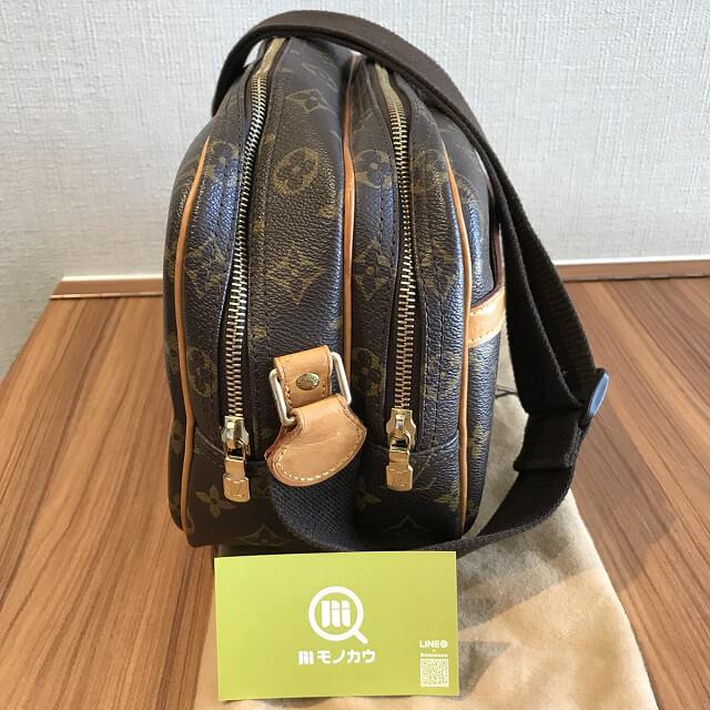 町田のお客様からヴィトンのショルダーバッグ【リポーターPM】を買取_03