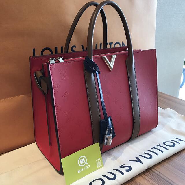 大田区田園調布のお客様からヴィトンのヴェリートートMMを買取_02