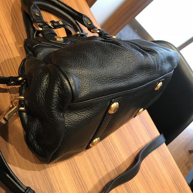 横浜市上大岡のお客様からマークバイマークジェイコブスのバッグ【ベイビーグルービー】を買取_02
