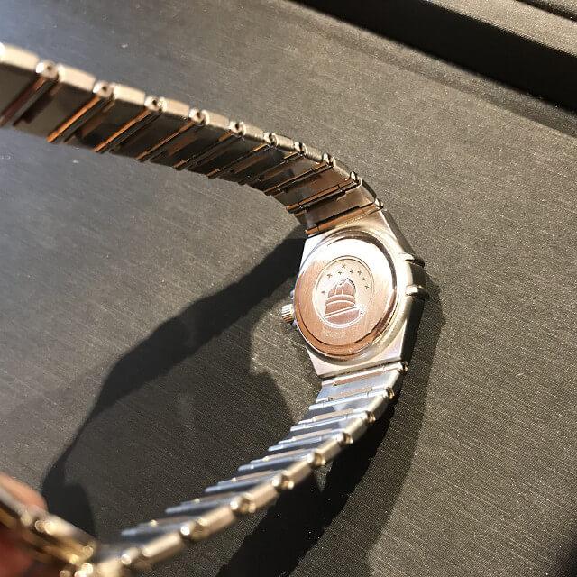上大岡のお客様からオメガの腕時計【コンステレーション】を買取_03