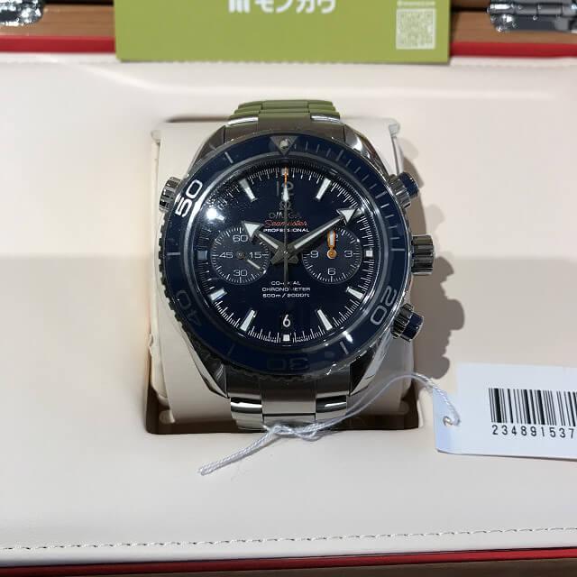 阿佐ヶ谷のお客様からオメガの腕時計【シーマスタープラネットオーシャン クロノグラフ】を買取_01