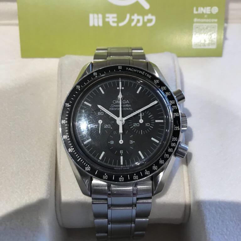 天王寺のお客様からオメガの腕時計【スピードマスター】を買取_02