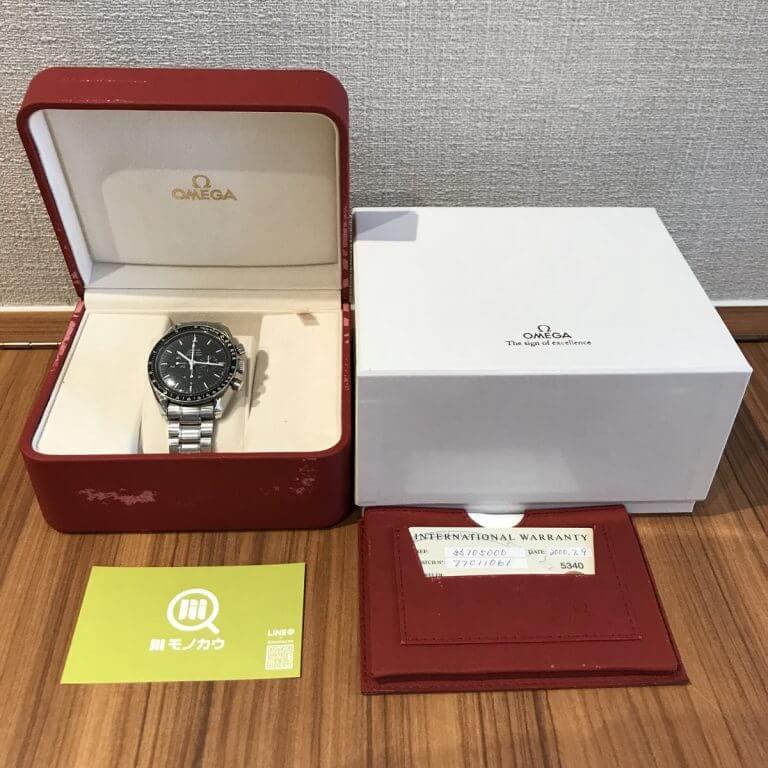 天王寺のお客様からオメガの腕時計【スピードマスター】を買取_04