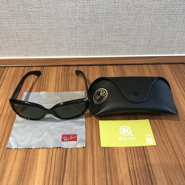 岐阜のお客様からレイバンのサングラスを買取_02