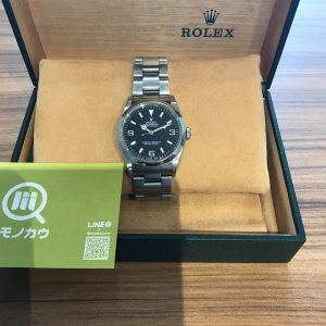 鹿児島のお客様からロレックスの腕時計【エクスプローラーI】を買取