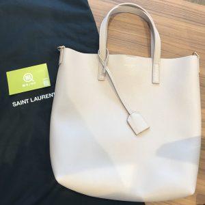 梅田のお客様からサンローランのショッピングトイバッグを買取