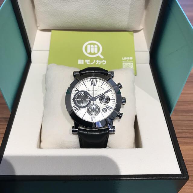 東大阪のお客様からティファニーのアトラスクロノの時計を買取_01
