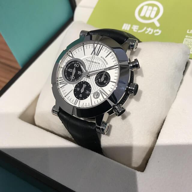 東大阪のお客様からティファニーのアトラスクロノの時計を買取_02