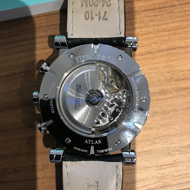 東大阪のお客様からティファニーのアトラスクロノの時計を買取_03