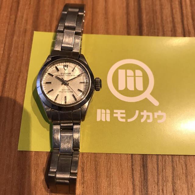 名張のお客様からチュードル(チューダー)の腕時計【オイスタープリンセス】を買取_01