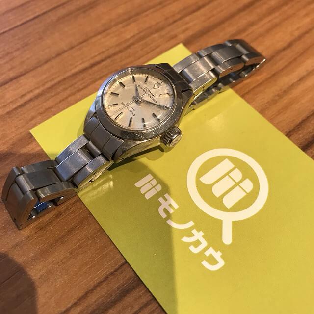 名張のお客様からチュードル(チューダー)の腕時計【オイスタープリンセス】を買取_02