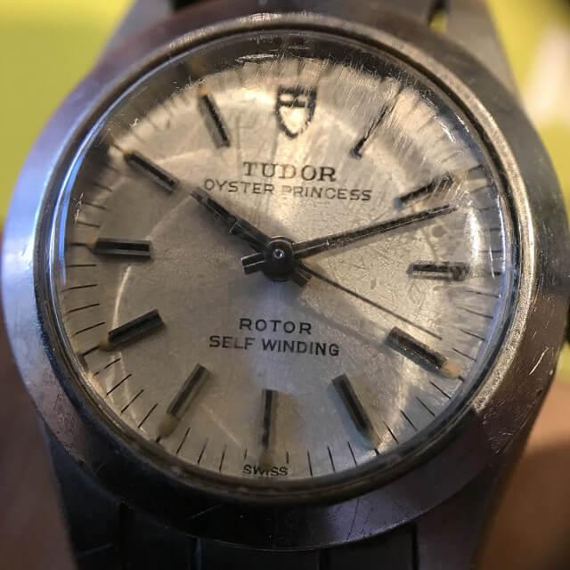 名張のお客様からチュードル(チューダー)の腕時計【オイスタープリンセス】を買取_03