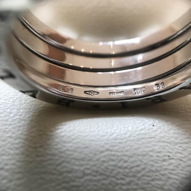 堀江のお客様からブルガリの【B-Zero1】の指輪を買取_03