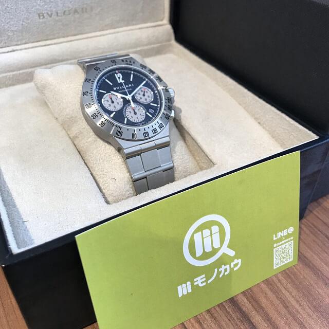 大阪市鶴見区のお客様からブルガリの腕時計【ディアゴノ】を買取_02