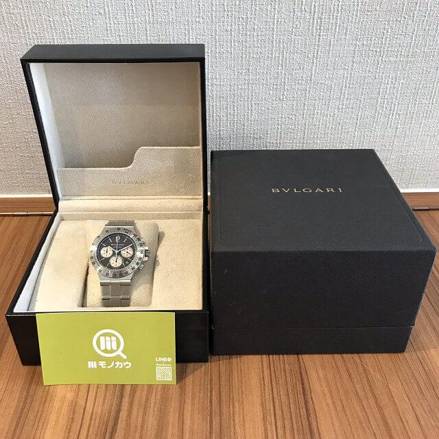 大阪市鶴見区のお客様からブルガリの腕時計【ディアゴノ】を買取_04