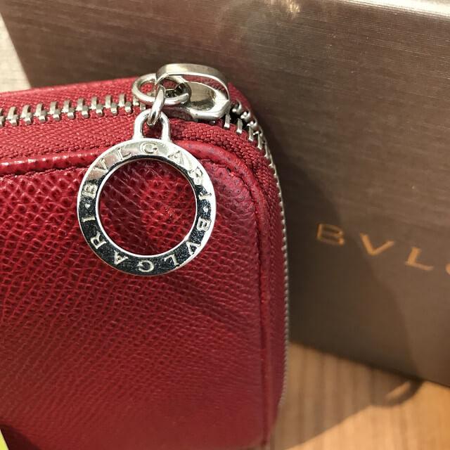 松屋町のお客様からブルガリの長財布を買取_03