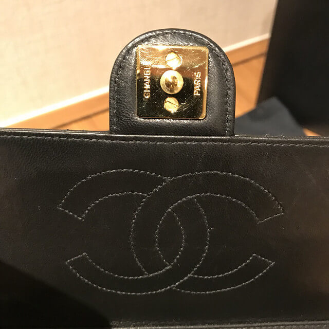 平野のお客様からシャネルの【マトラッセ】チェーンショルダーバッグを買取_04
