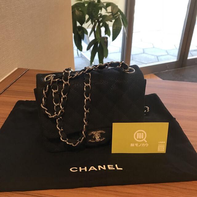 db52f0ecbbfb 西宮のお客様からシャネルのミニマトラッセバッグを買取_01 ...