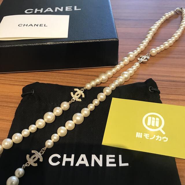 西宮のお客様からシャネルのパールネックレスを買取_02