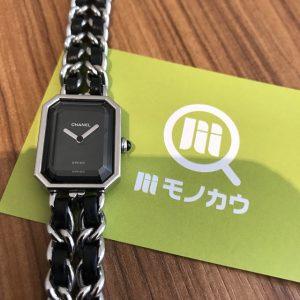 淡路のお客様からシャネルの腕時計【プルミエール】を買取