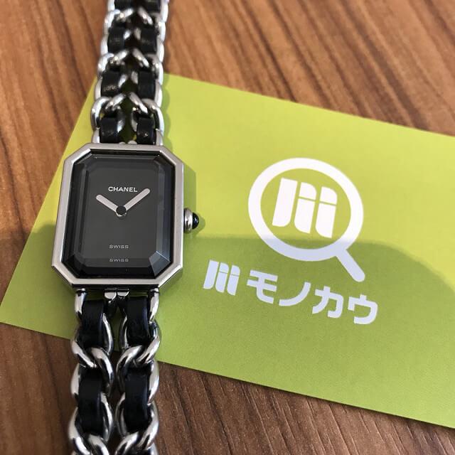 淡路のお客様からシャネルの腕時計【プルミエール】を買取_01