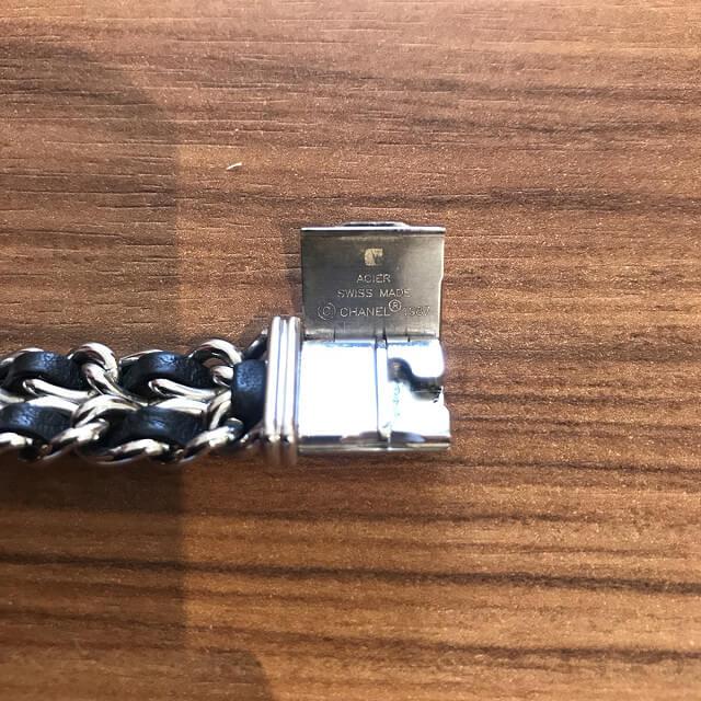 淡路のお客様からシャネルの腕時計【プルミエール】を買取_04