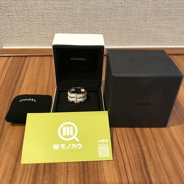 亀岡のお客様からシャネルの【ウルトラダイヤリング】を買取_01