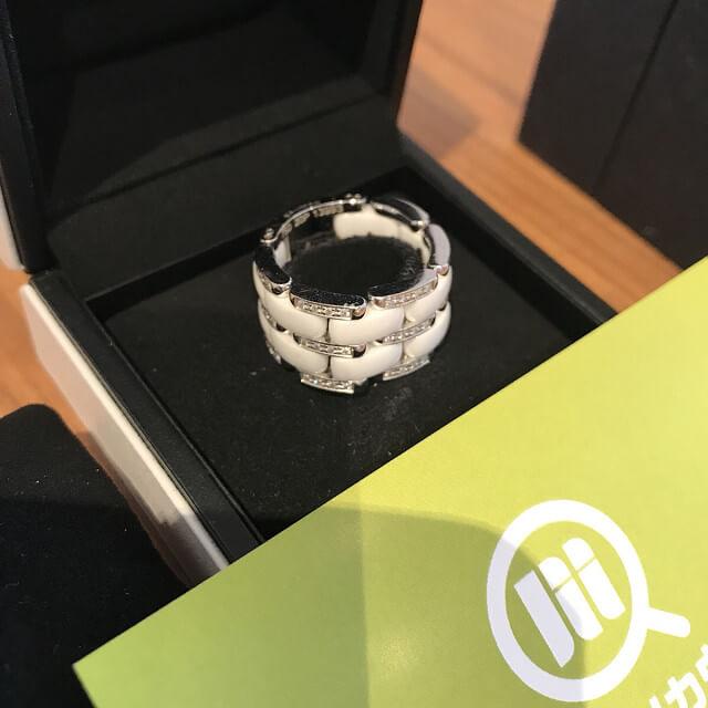 亀岡のお客様からシャネルの【ウルトラダイヤリング】を買取_03