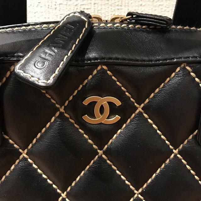 出戸のお客様からシャネルの【ワイルドステッチ】のバッグを買取_03